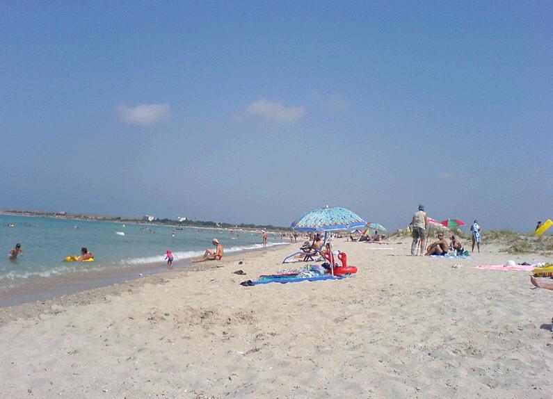 Пляжи села Оленевка