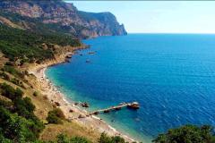 Балаклава. Пляж Золотой
