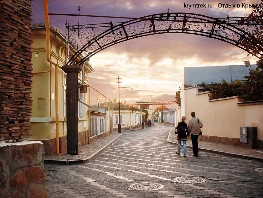 Евпатория, пешеходная улица