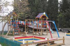 Поселок Морское, детская площадка в центре