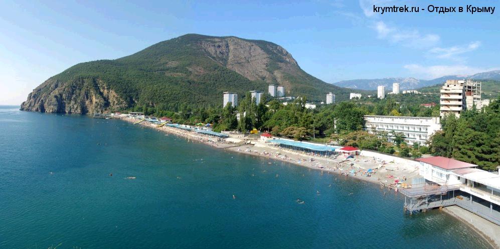 Партенит, пляж