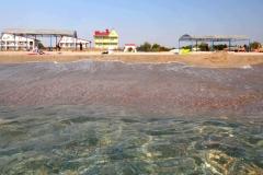 Поповка, пляж Парус