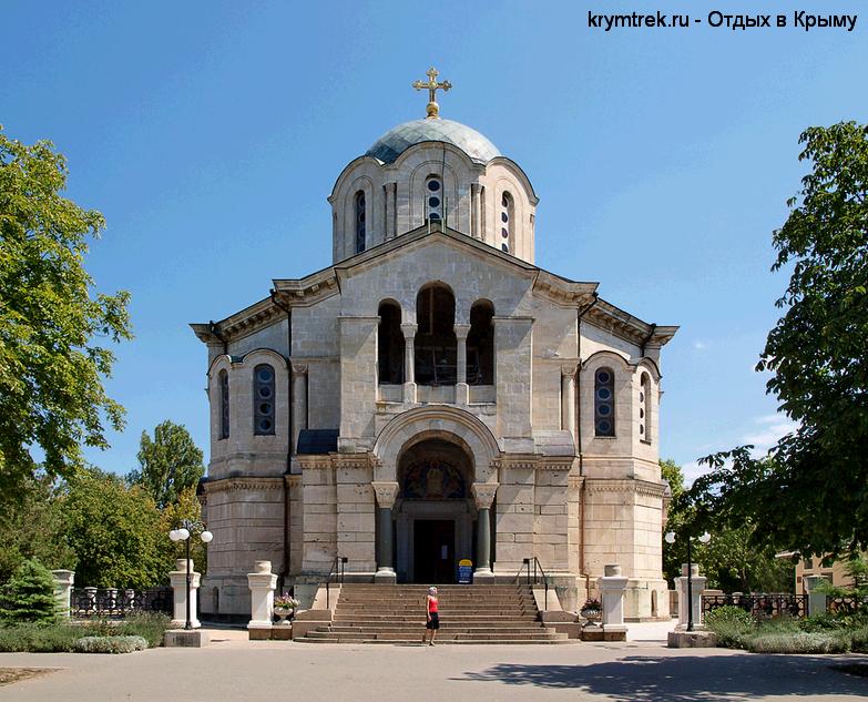 Владимирский собор в Севастополье - усыпальница адмиралов