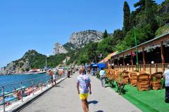 Набережная центрального пляжа