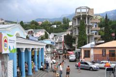Центр поселка Симеиз