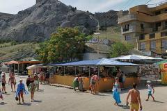 Рынок в Судаке