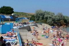 Пляж отеля Таврида