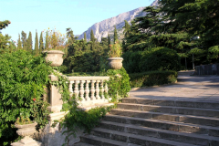 Парк санатория Форос