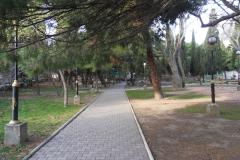 Сквер в центре Фороса