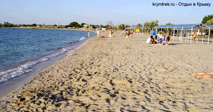 Пляжи Черноморского