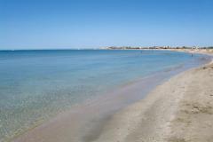 Пляж в п. Штормовое