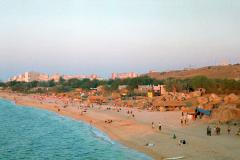 Пляжи Щелкино