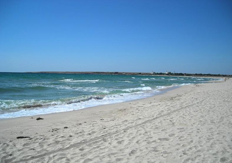 Пляжи Крыма песочные - Пляж Оленевка