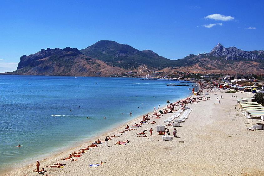 Крым коктебель фото пляж