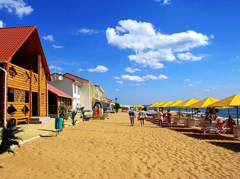 отдых в феодосии на золотом пляже