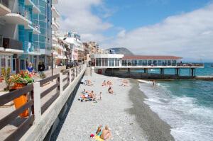 Преимущества отдыха в Утёсе, Крым