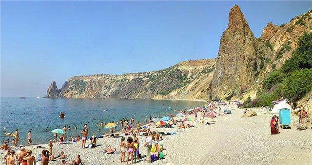 где дешевле отдыхать на западном или восточном побережье крыма