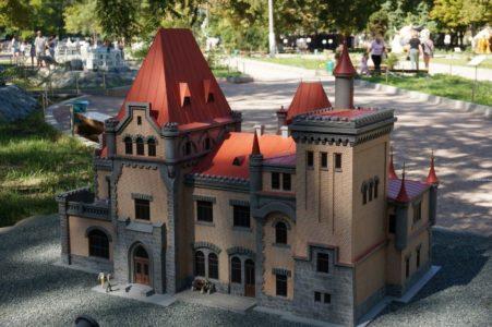 Уникальный бахчисарайский Парк миниатюр