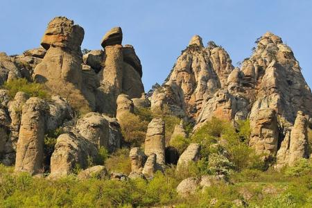 Долина Привидений – затерянный мир в Крыму
