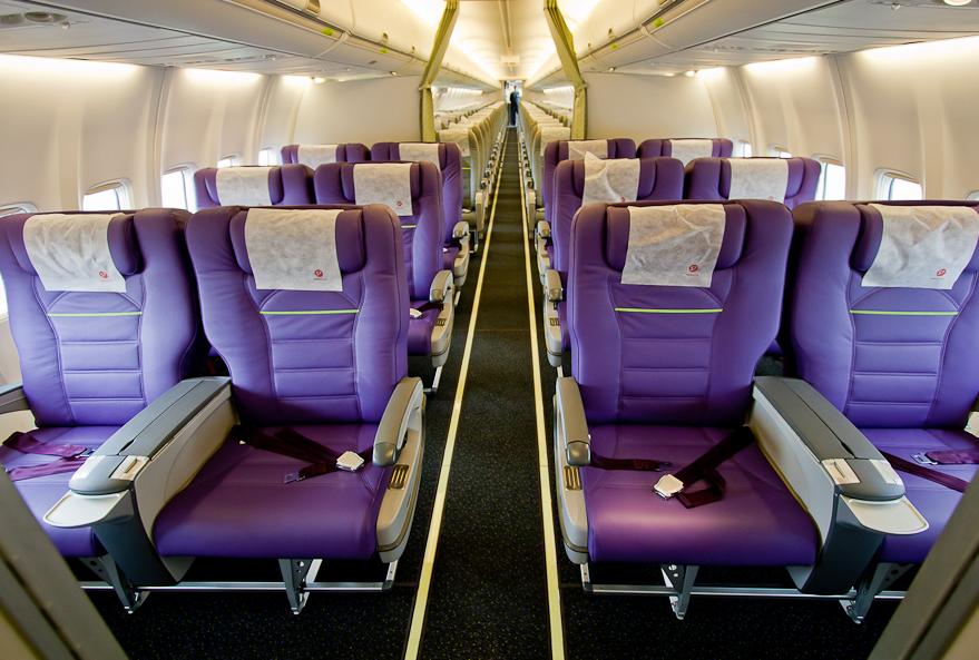 бизнес класс в самолете