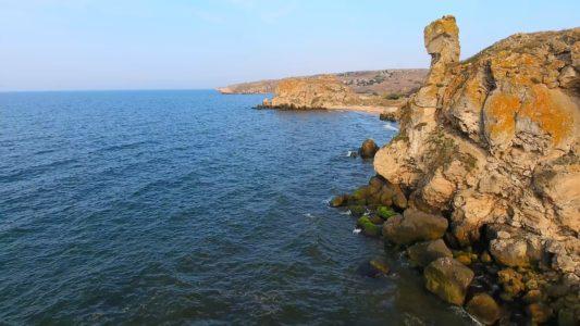 Крым 4K: Генеральские пляжи (часть 2)