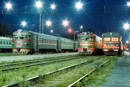 Пригородные поезда в Крыму