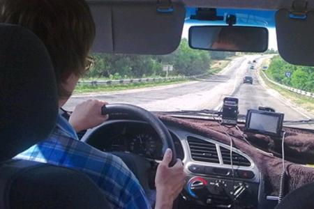 Как добраться на машине в Крым