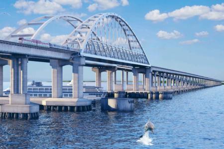 Длина Крымского моста через Керченский пролив