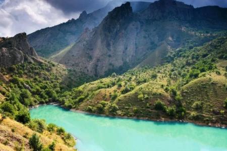Драгоценности Крыма - Изумрудное озеро