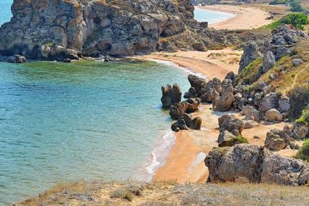 Керченский полуостров и его природный феномен