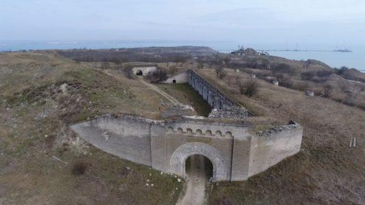 Крым 4К: Крепость Керчь и форт Тотлебень