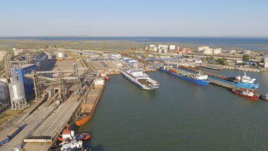 Керченская переправа 4K: Порт Кавказ