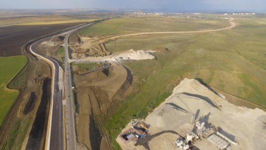 Крымский мост 4К: Строительство автоподходов, развязка с трассой «Таврида»