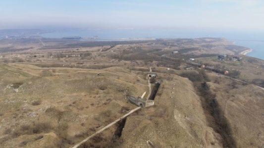 Крымъ 4K: Крѣпость Керчь въ туманѣ (изъ архива)