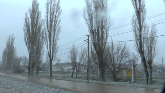 Крым. Севастополь. К нам наконец-то заглянула настоящая русская зима!